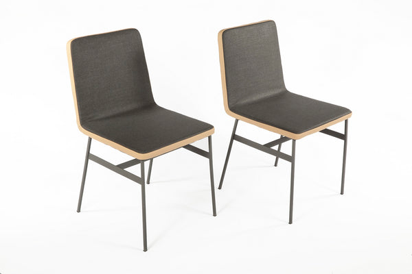 The Porter Dining Chair [FSC002DGREY] 7