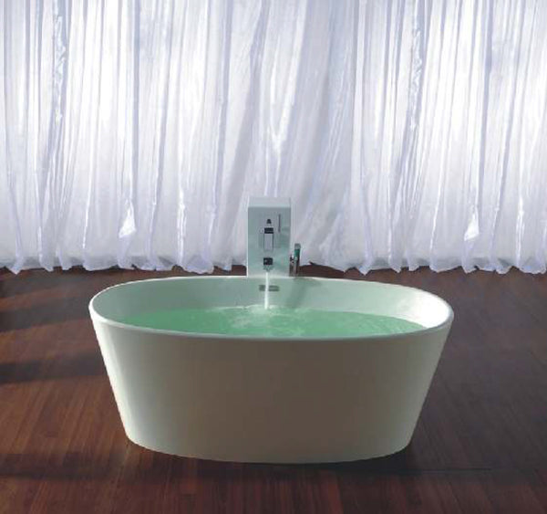 Controlbrand True Solid Surface Soaking Tub - Vinyasa Glossy [BW4056SW]
