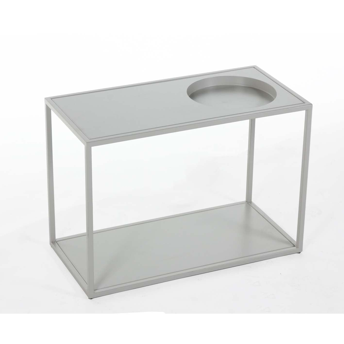 Reference End Table [FSE001LGREY] 2