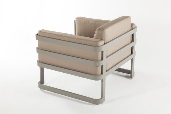 The Patras Lounge Chair [FCC3510GREY]
