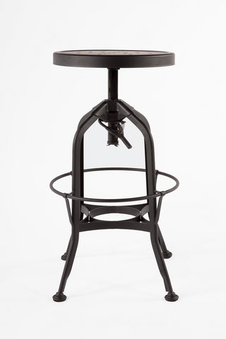 The Vranum Stool [FOC88762BLK]