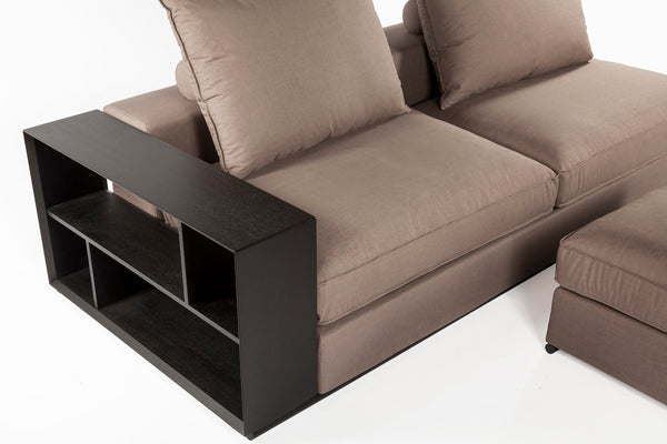 The Collegno Sectional [FQS002GREY]