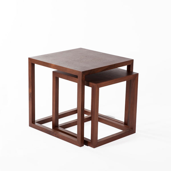 The Vaxaholm Nesting Table [FET0031WALNUT]