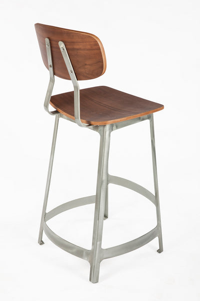 The Vyl Stool [FOC52575WALNUT] 3