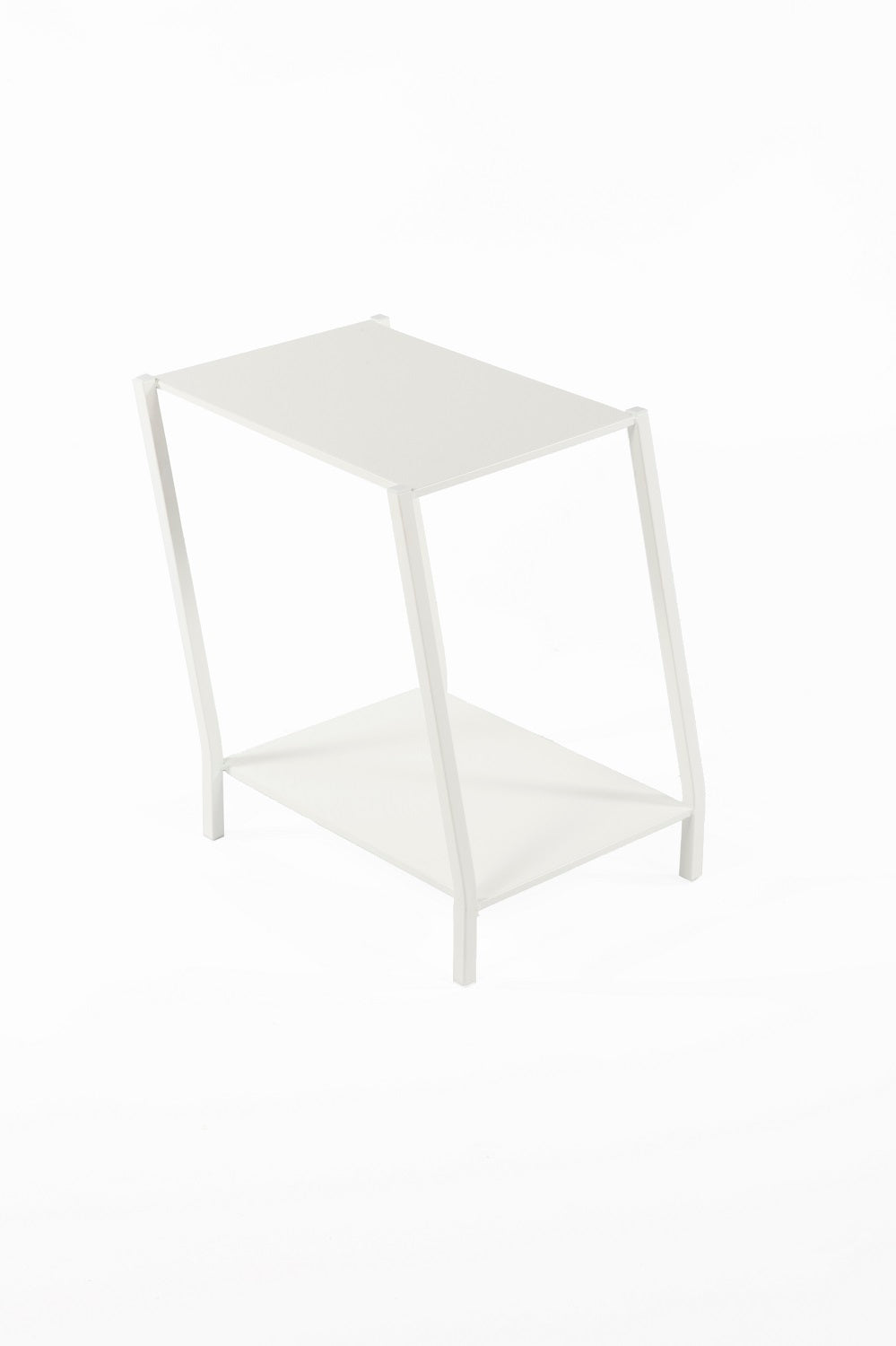 The Wiggle End Table [FT6023WHT] 2