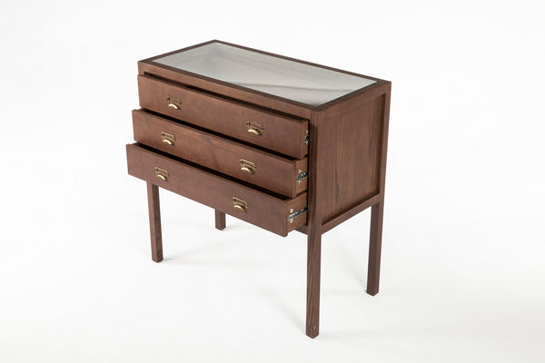 The Tanker Chest 3 Drawers [FSD004WALNUT] 3