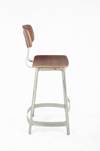 The Vyl Stool [FOC52575WALNUT] 2