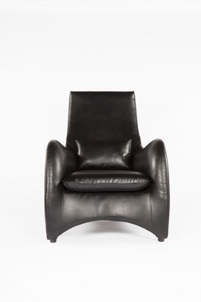 The Tampere Lounge Chair and Ottoman [FQC005BLKSET] 3