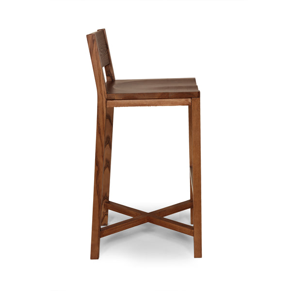The Borgholm Stool [FEC1419WALNUT]  1