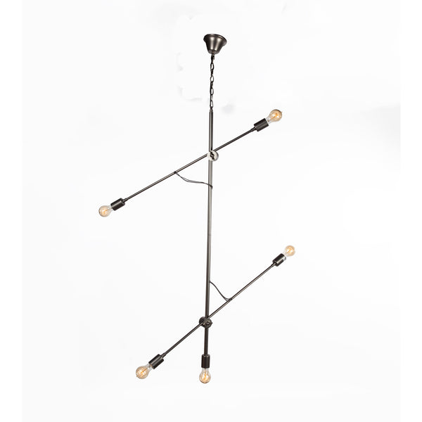 The Rjukan Chandelier [LU20255BLK]