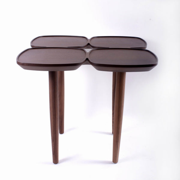 The Francine Side Table in Solid Walnut [FET7219AH] 1