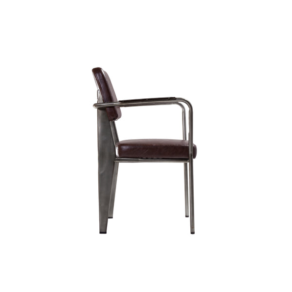 Klassen Arm Chair [FOC90081DBRN]