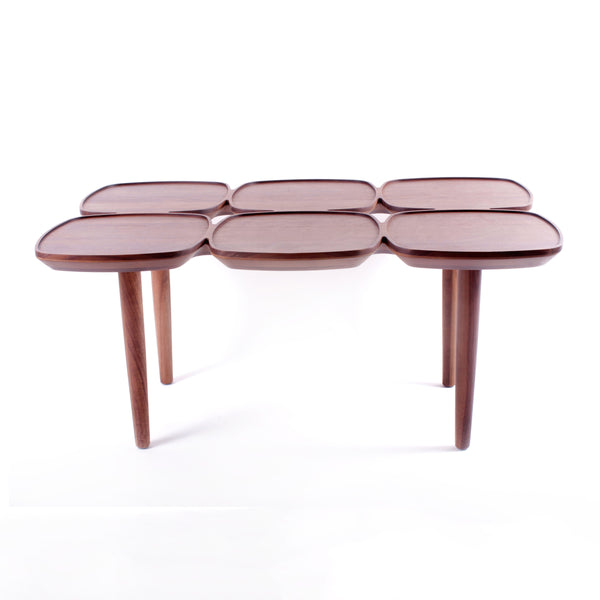 The Francine Cofee Table in Solid Walnut [FET7219B]