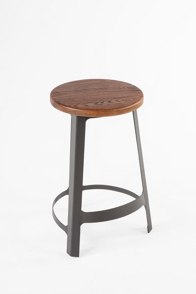 The Vrange Stool [FOC89365WALNUT] 2