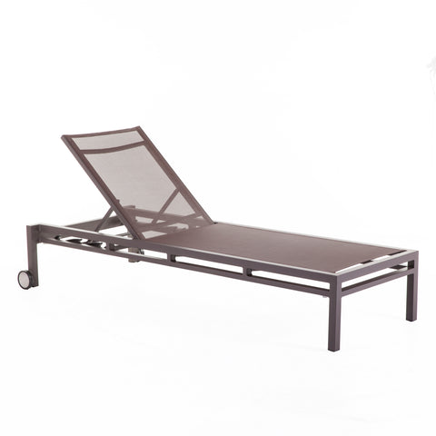 Dallas Outdoor Sun Lounger [FCC3759BROWN]