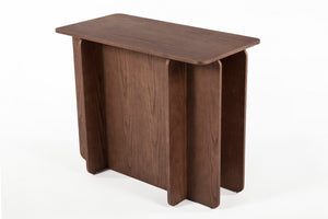 The House of Cards End Table -Tall [FST0041WALNUT] 3