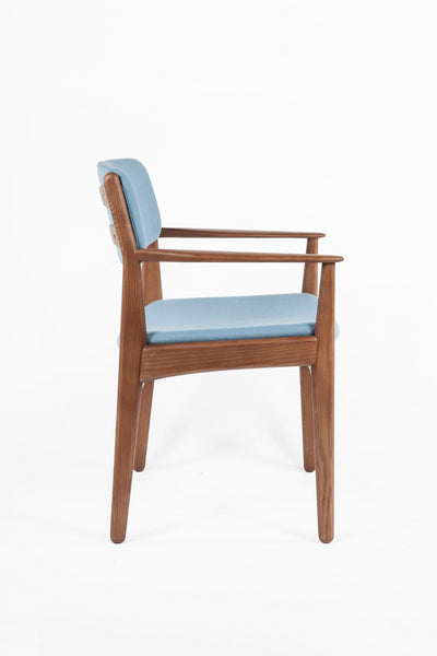 The Tiset Arm Chair [FEC9119LBLUE] 3