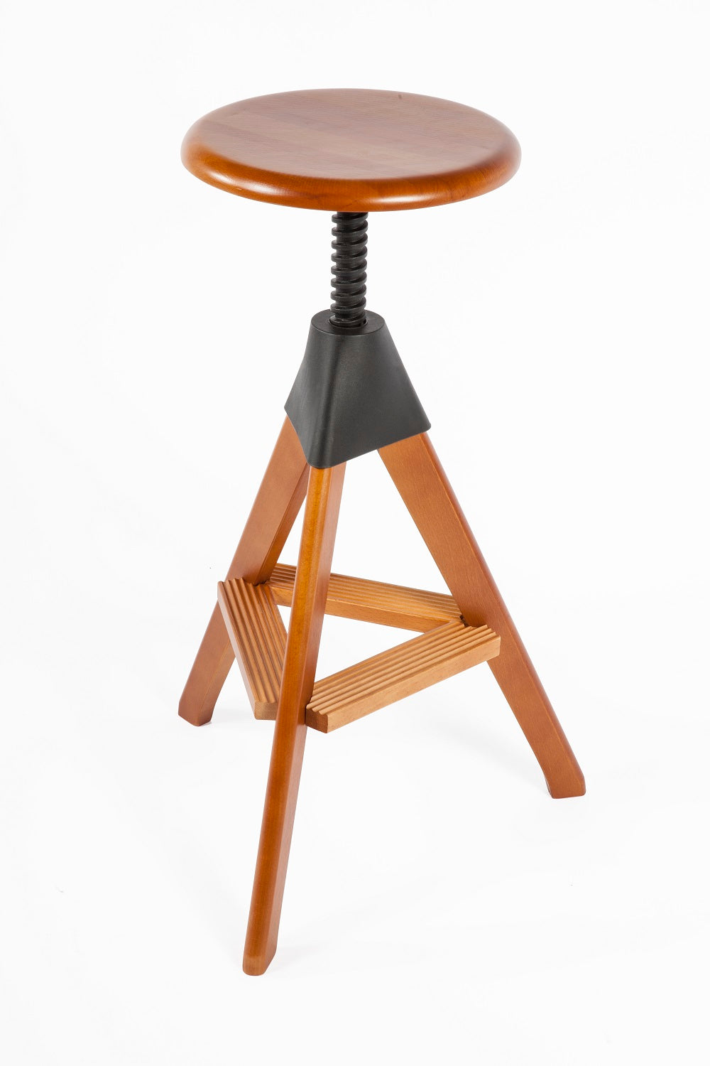 The Zaragoza Stool [FXC908WALNUT]