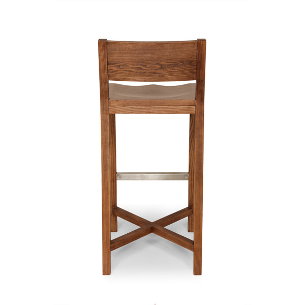 The Borgholm Stool [FEC1419WALNUT]  2