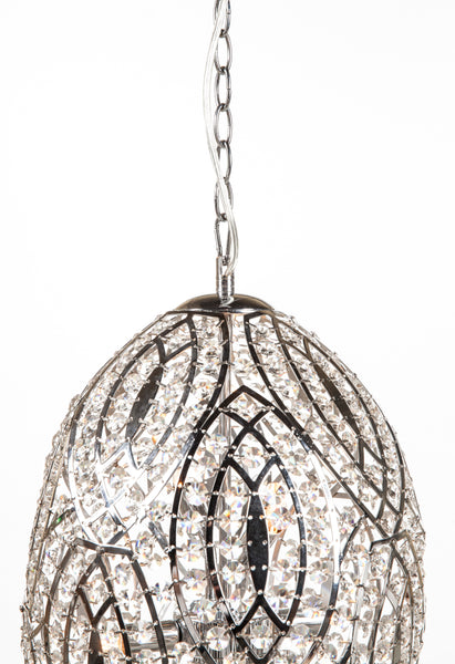 "The ""Mulan"" Crystal Pendant lamp [LU300S] 2"