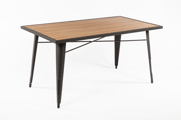 Good Form French Outdoor table [FKT002NATURAL]  3
