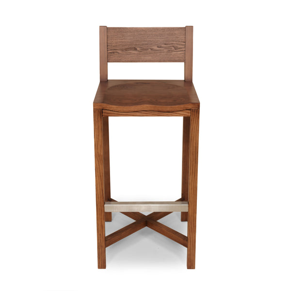 The Borgholm Stool [FEC1419WALNUT]  3