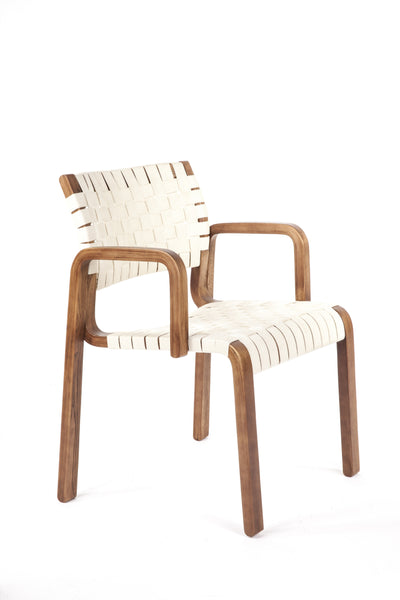 Orebro Arm Chair [FEC1619WHT]
