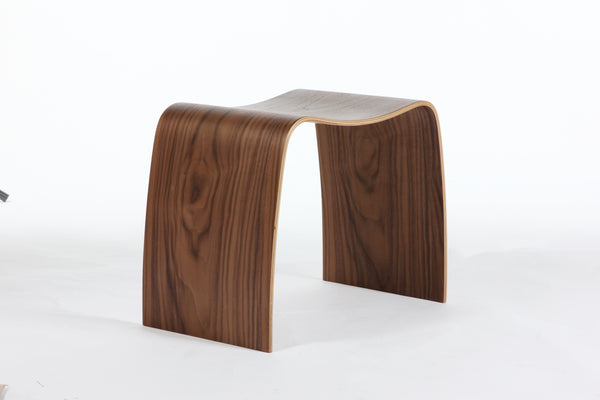 "The"" Lille"" Stacking Stool [FEC1119WALNUT] 1"