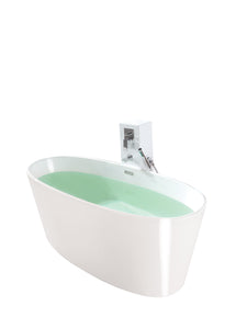 Controlbrand True Solid Surface Soaking Tub - Vinyasa [BW4056SW]