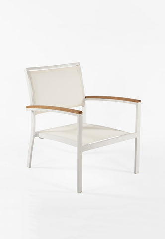 The Flevoland Lounge Chair [FCC0210WHT]