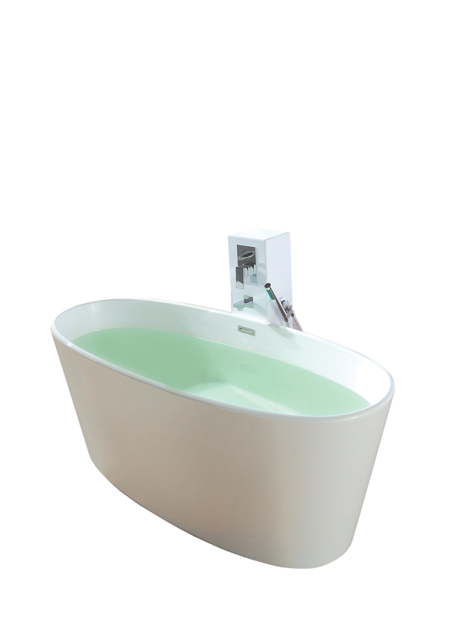 Controlbrand True Solid Surface Soaking Tub - Vinyasa Matte [BW4056MW]
