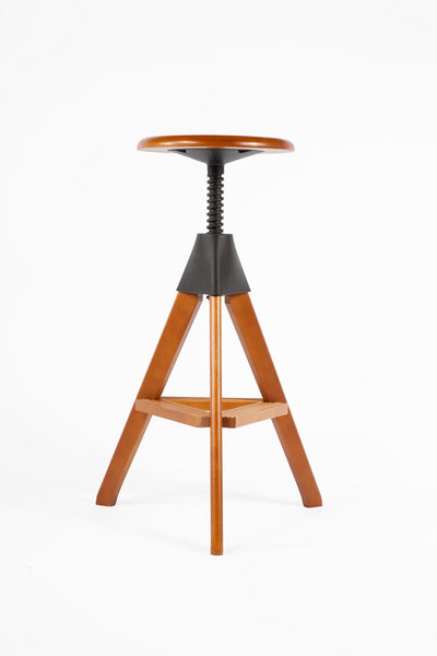 The Zaragoza Stool [FXC908WALNUT] 2