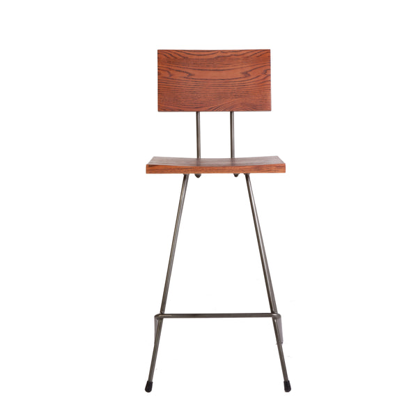 Hjort Stool [FOC57065WALNUT]