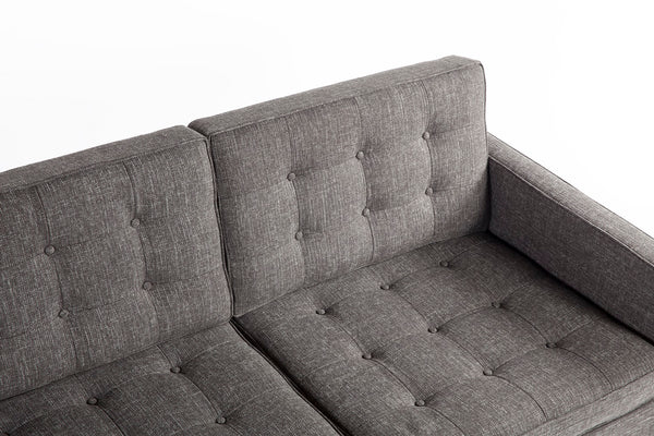 The Dexter Three Seater Sofa [FEC5227TWBLK3]