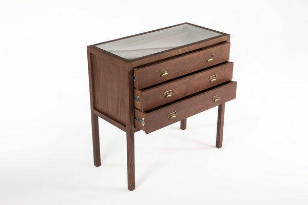 The Tanker Chest 3 Drawers [FSD004WALNUT] 2