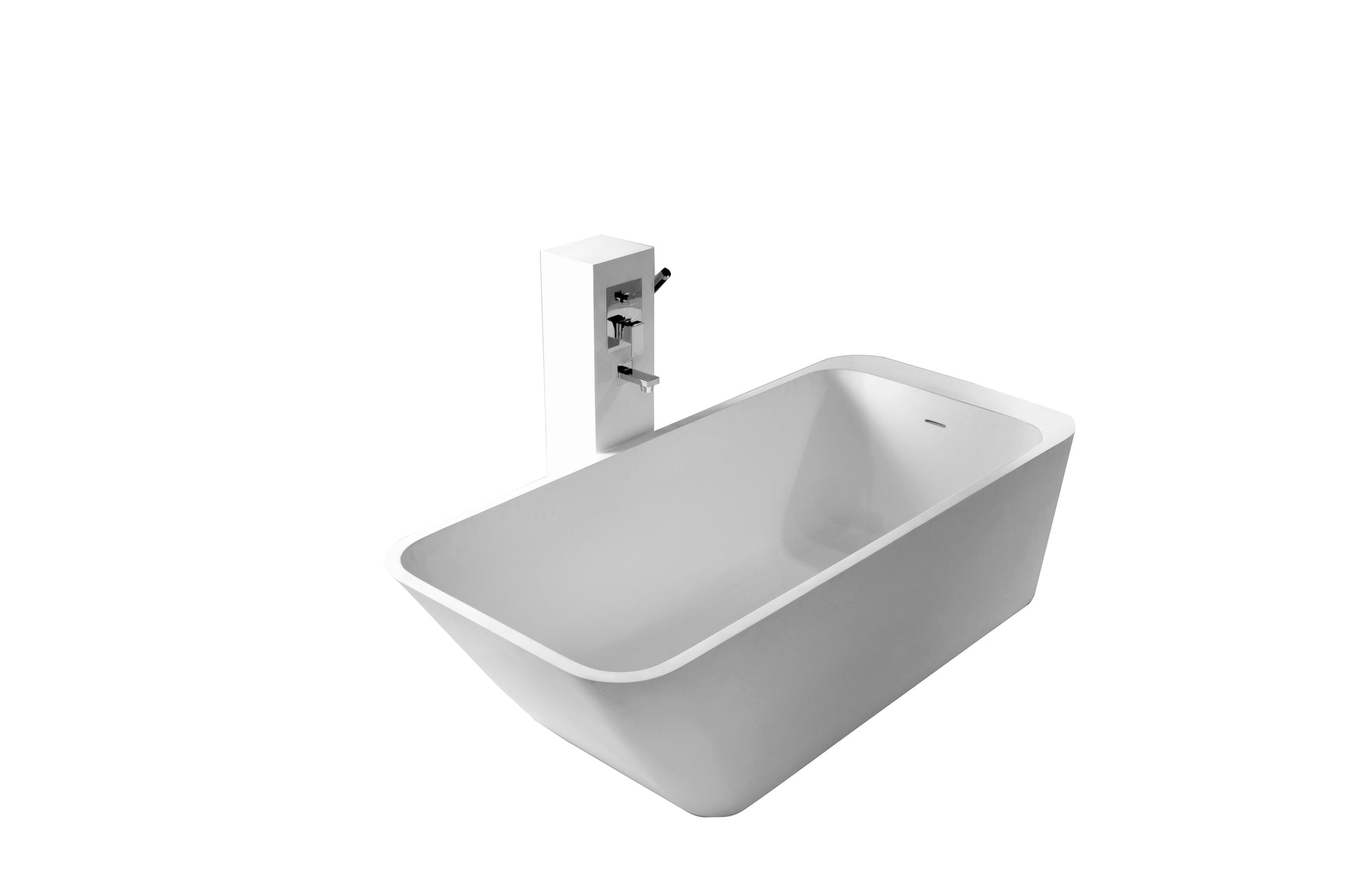 Controlbrand True Solid Surface Soaking Tub - Balance [BW5556SW]