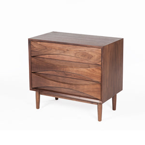 Alva 3 drawer Chest [FES7839WALNUTB