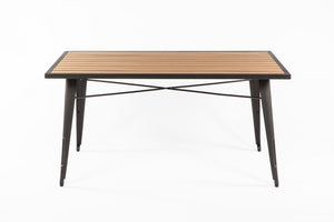 Good Form French Outdoor table [FKT002NATURAL]  2