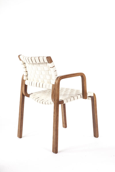Orebro Arm Chair [FEC1619WHT] 2