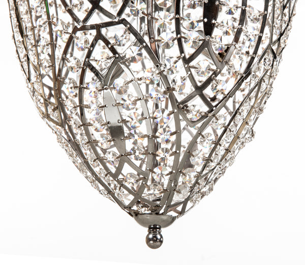 "The ""Mulan"" Crystal Pendant lamp [LU300S] 3"