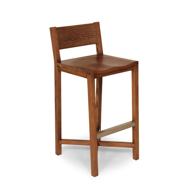 The Borgholm Stool [FEC1419WALNUT]  4