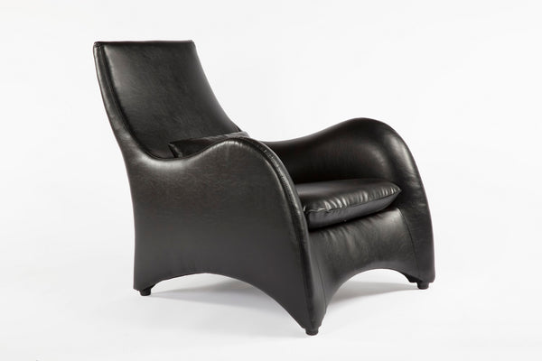 The Tampere Lounge Chair and Ottoman [FQC005BLKSET] 4