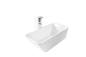 Controlbrand True Solid Surface Soaking Tub - Balance [BW6456SW]