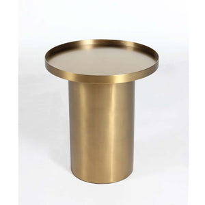 Rivet End Table [FSE002GOLD] 2
