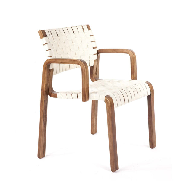 Orebro Arm Chair [FEC1619WHT] 5
