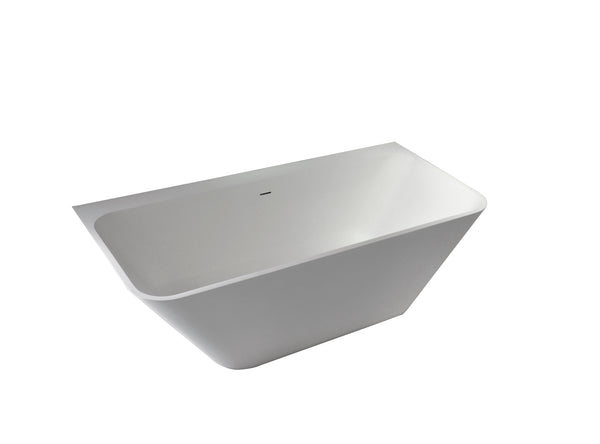 Controlbrand True Solid Surface Soaking Tub - Bliss [BW5456MW]