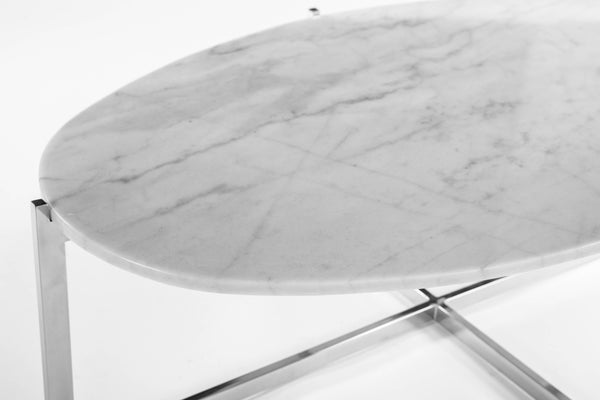 Oval Cocktail Table [FHT09WHT]