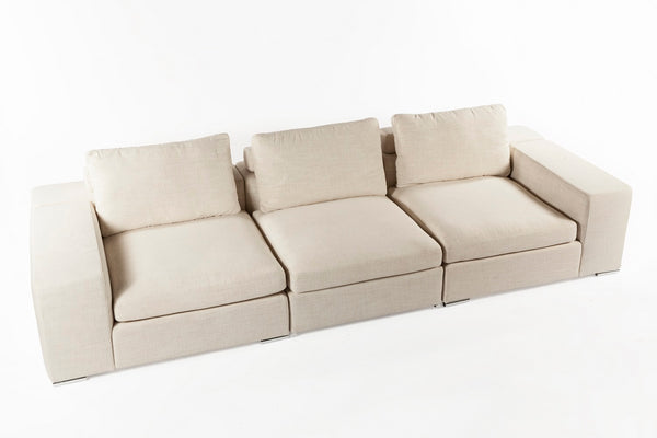 The Chioggia Sectional [FQS011BEIGE]
