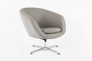 The Boras Lounge Chair [FEC7019GREY] 3