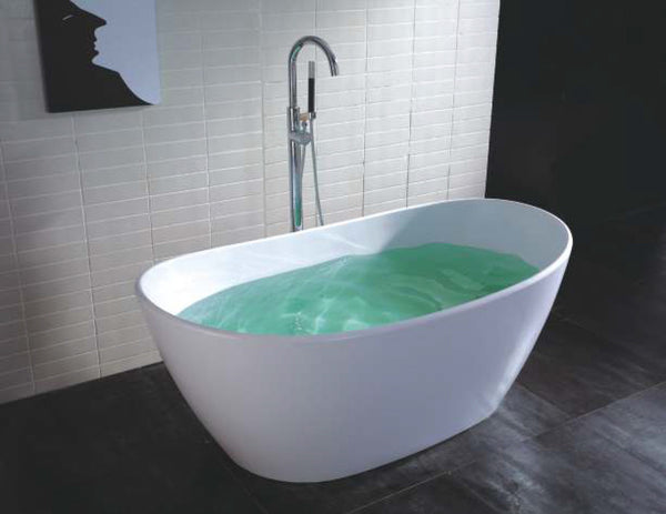 Controlbrand True Solid Surface Soaking Tub - Harmony Matte [BW9056MW]